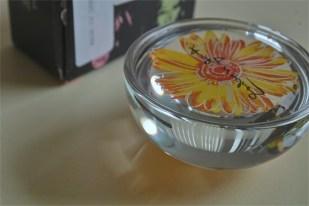 アンディ ワォーホール デザイン お花のペーパーウェイト ドイツ ローゼンタール studio line 製 2