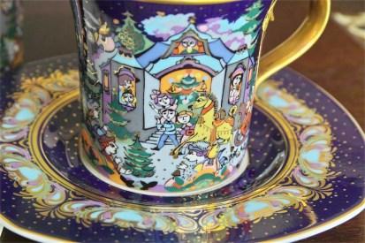 ドイツ ローゼンタール(Rosenthal)クリスマス特別 C&S 1995年版 華やか!ゴールド色 4