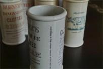 英国 クロテッドクリームボトル パープル文字 ロングサイズ 3