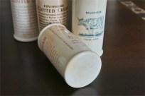 英国 クロテッドクリームボトル ピンク文字 ロングサイズ その2 4