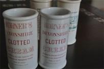 英国 クロテッドクリームボトル ピンク文字 4