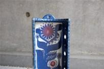 アルミニア窯 (ロイヤルコペンハーゲン)Berte Jessenデザイン 1960年代製 キャンドルホルダー
