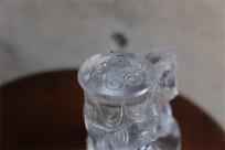 ドイツ ローゼンタール社 スタジオライン クリスタルガラスの聖母子像 デザイン:ビョルン・ヴィンブラッド