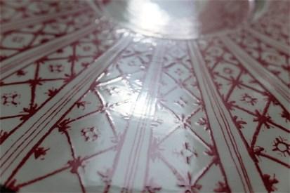 Bjørn (Bjorn) Wiinblad (ビョルン・ヴィンブラッドさん) 飾り皿 31㌢  デンマーク ニモール窯 Nymølle 3057-164 1