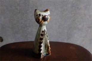 SOHOLM スーホルム窯 1960年代以前の代表作 猫のフィギュア 立ってるタイプ