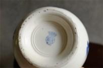 カフェオレボウル その31 Badonviller (バドンヴィレー)製 青いツバメ柄 1910年以前の製品