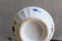アンティークカフェオレボウル その43 フランス DIGOIN(ディゴアン)社製 手書きの愛らしい小花柄