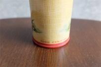 英国製 ミニ アンティーク ブリキ(TIN)缶 スパイス入れ 庭の風景