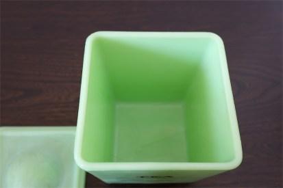 米 ジャネット/Jeannette社 ジェダイカラー TEA 48オンスキャニスター ②