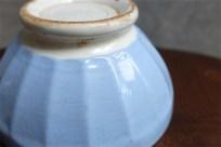 アンティークカフェオレボウル 水色の古いタイプ メーカーの記載はありませんが、おそらくDIGOIN/SARREGUEMINES(ディゴワン/サルグミンヌ)製 その77