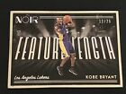 2018-19 NOIR Kobe Bryant Feature Length Silver Frame /25 Lakers