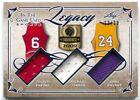 2019 Leaf ITG Michael Jordan Kobe Bryant Julius Erving Legacy 3x Jersey #/30