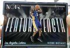 Kobe Bryant 2018-19 Panini Noir Beautiful Silver Frame Sp La Lakers #/25 Hot 🔥