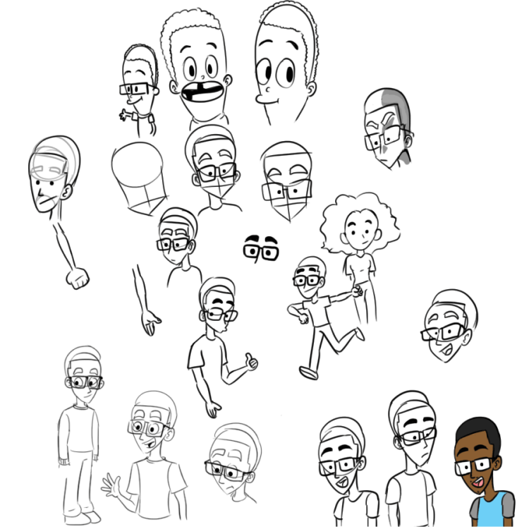 Practice fam sketches-0