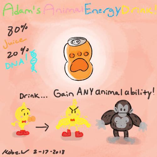 Adam's Animal Energy Drink