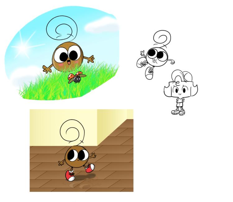 Adventures of Bobby Concept Art