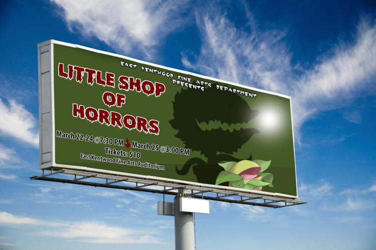 Little Shop of Horrors Billboard