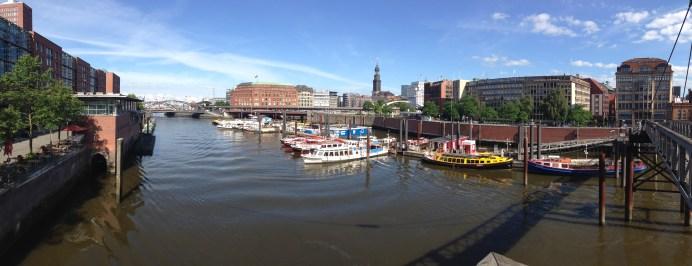 In Hamburg, Germany, for WordCamp Hamburg.
