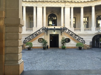 Look inside the Palacio San MartÍn