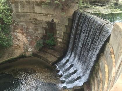 Seven Springs waterfall…