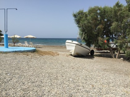 I tried to capture one of those Greek boat scenes but failed.