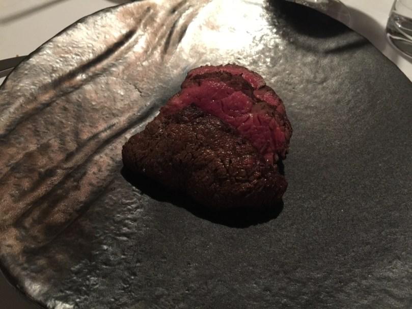 Beef Fillet; Cafe au Lait sauce.