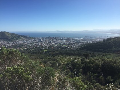 View over Cape Town