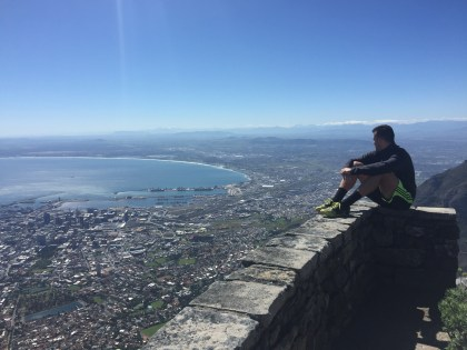 Overlooking Cape Town
