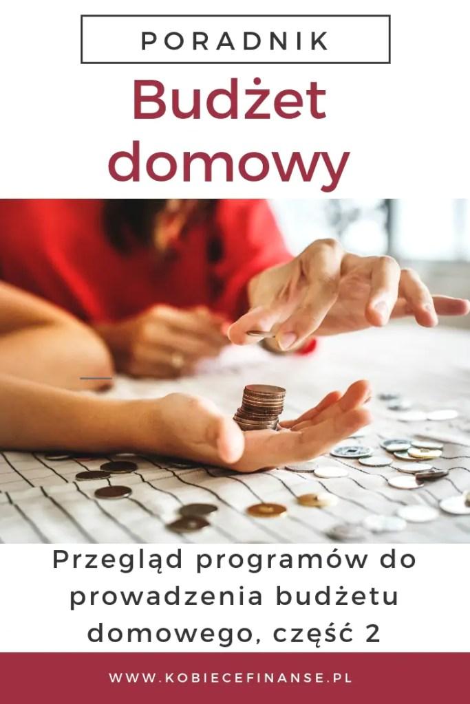 Przegląd programów do prowadzenia domowego budżetu - częśc 2 na blogu finansowym Kobiece Finanase