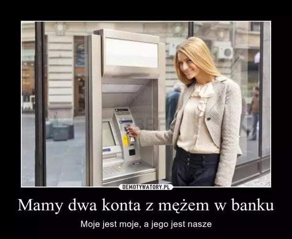 Wspólne konto z mężem w banku