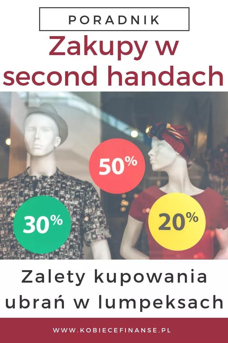 Zakupy w lumpeksach - zalety kupowania ubrań w second-handach