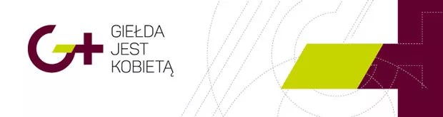 Logo - Giełda jest kobietą