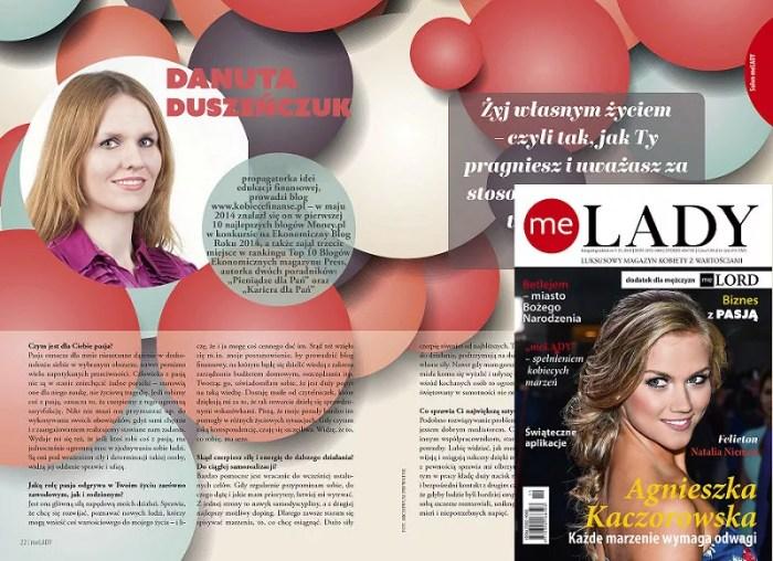 Wywiad meLADY 05/2015