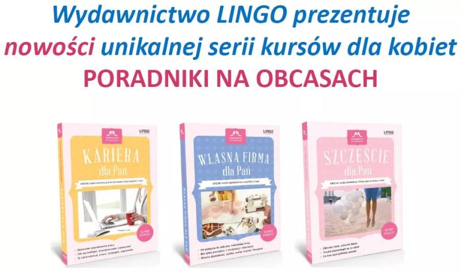Nowości wydawnictwa LINGO - Poradniki na obcasach