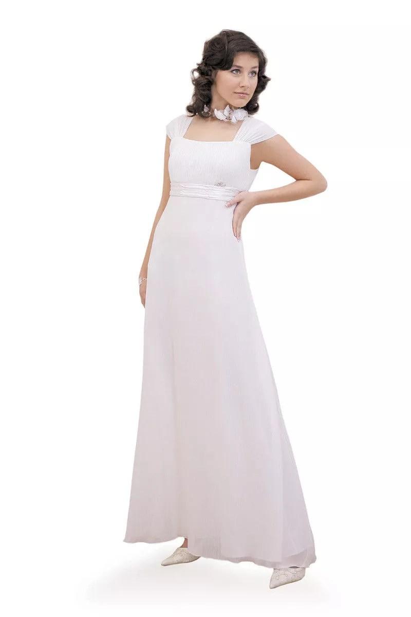 Suknia Fokus Fashion FSU158 biel