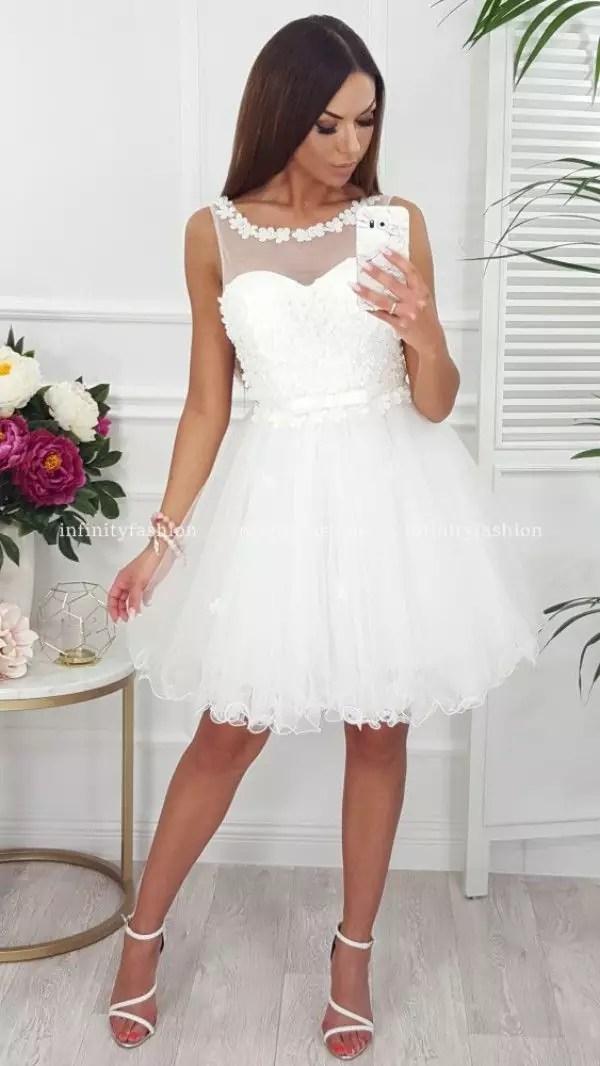 Sukienka Infinity Fashion Wedding biała