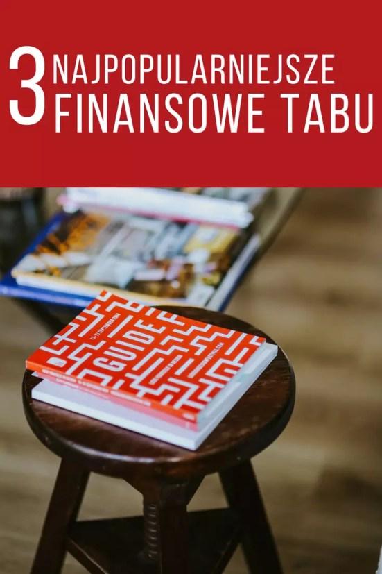 3 finansowe tabu