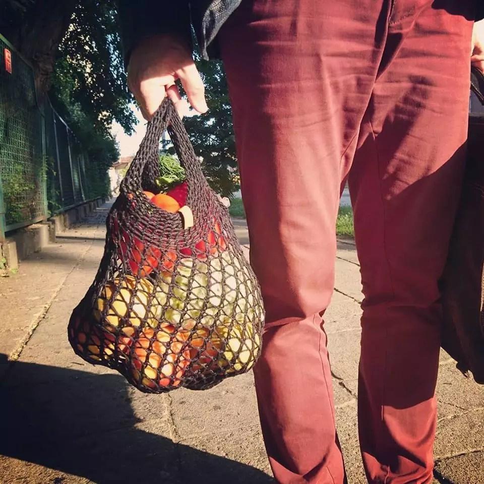 MaRuda dzierga ekologiczna siatka na zakupy