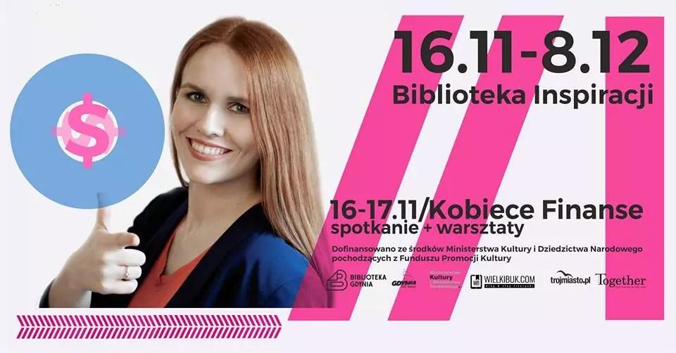 Biblioteka Inspiracji -Kobiece Finanse w Gdyni