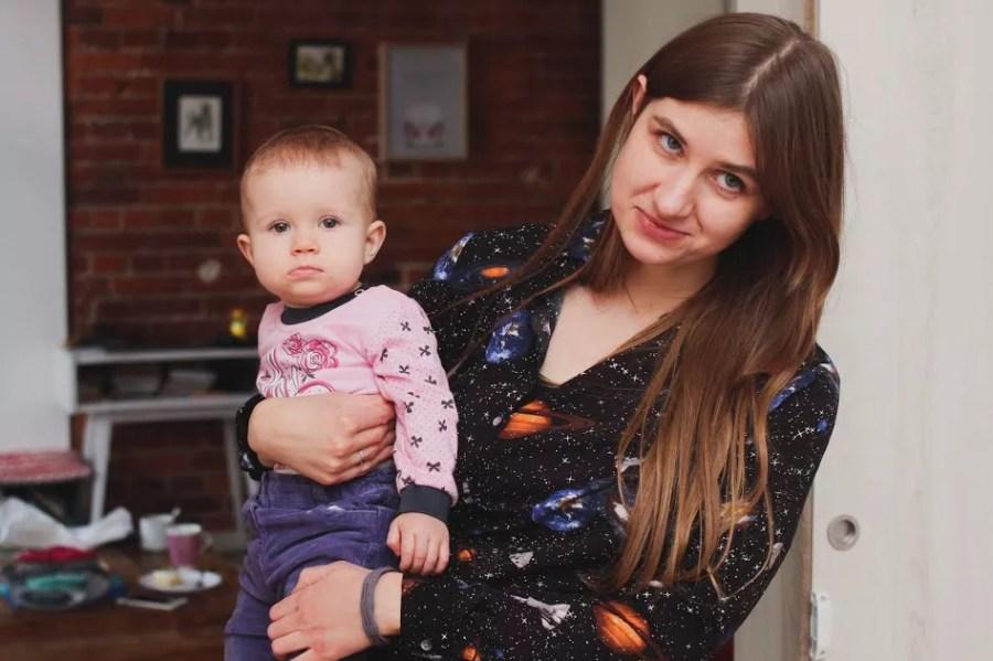 Ada Tronina - Kosterkiewicz - pracująca szczęśliwa mama, blogerka i feministka