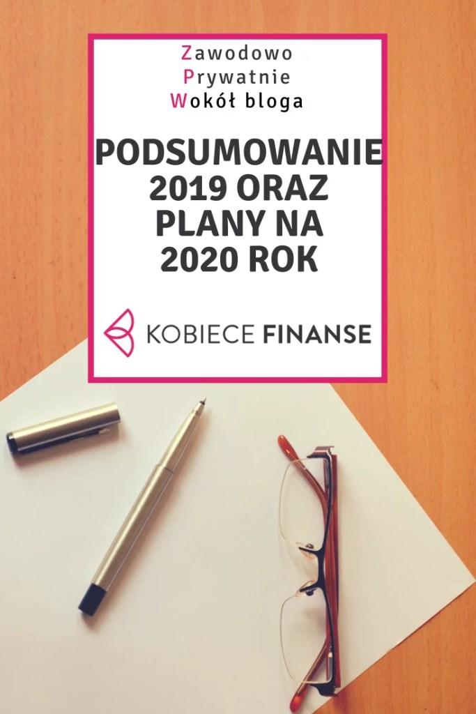 Podsumowanie 2019 roku i plany na 2020 rok