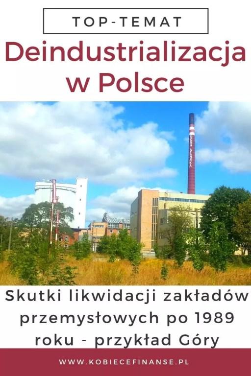 Deindustrializacja i likwidacja zakładów przemysłowych po 1989 roku - przykład Góry