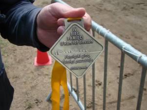 Jacek nie zdążył na bieg w Wieliszewie, ponieważ biegł w IV Biegu Pamięci