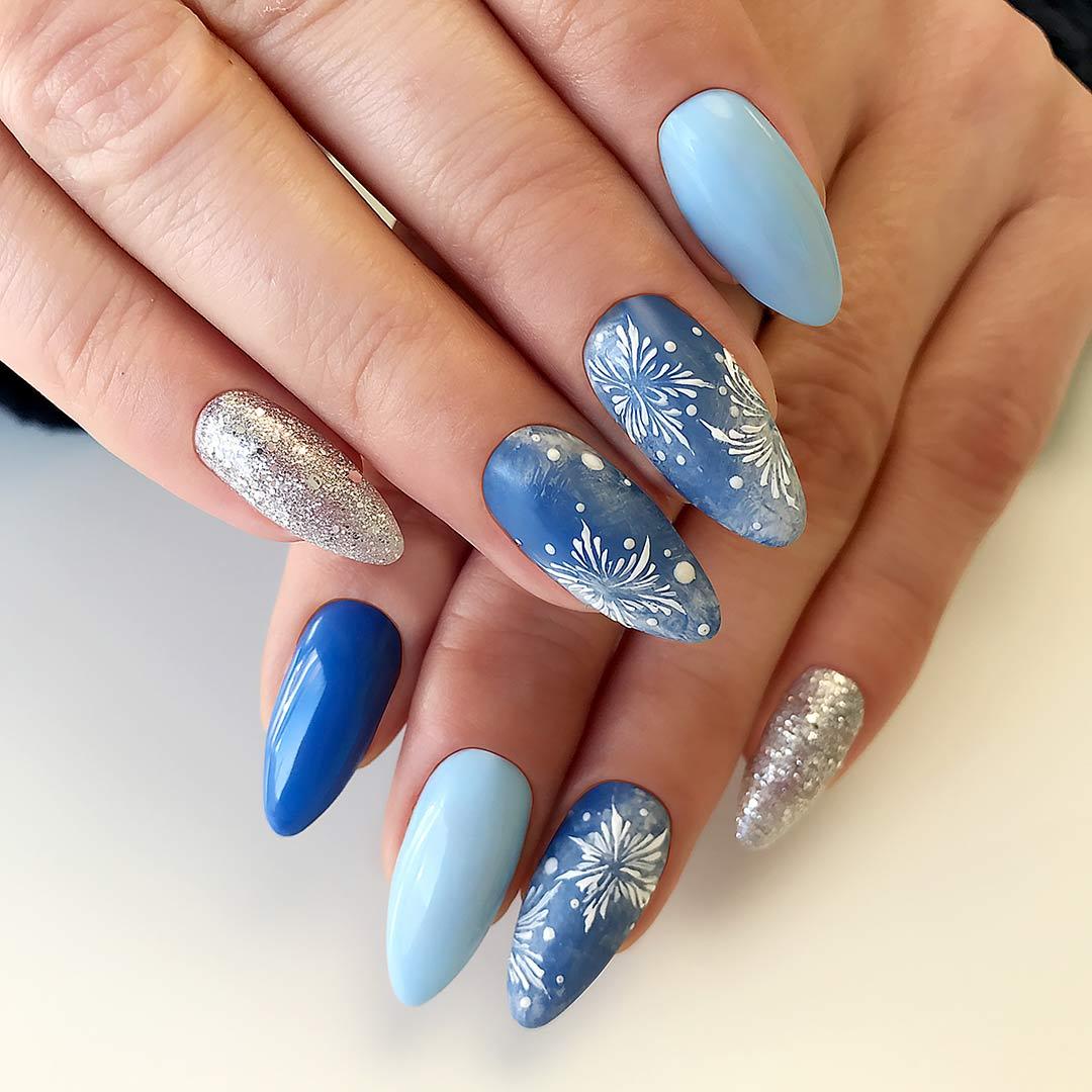 Zimowo Karnawalowe Pomysly Na Manicure Hybrydowy Czyli Trendy Na