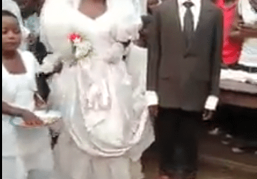 Man Dresses Like He Was @ A Funeral During His Wedding - Video Dey Trend