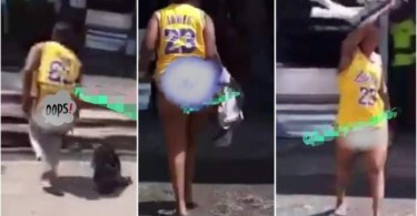 Alleged Bootylicious Lady Runs Mad After Sleeping With Man In A Hotel - Video