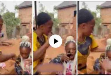 Girl Wrestle Her Friend 4 Telling Boyfriend Dat She's Ch£ating - Video