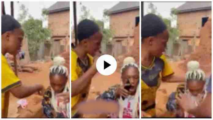 Girl Wrestle Her Friend 4 Telling Boyfriend Dat She's Ch£ating - Video