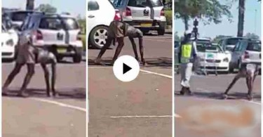 Lady Turns Into Goat After Picking Money 4 School Kids - Video