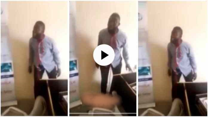 """Government Worker Who Threatens Suicide"""" Over Unpaid Salaries Trends - Video Below"""